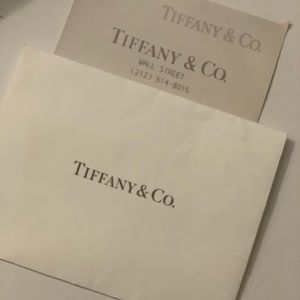"Tiffany & Co. Jewelry - Authentic Tiffany & Co. ""I love you"" necklace"